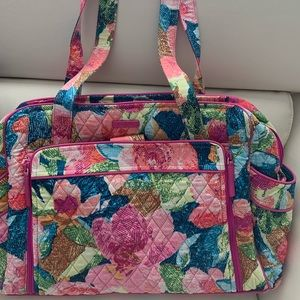 Vera Bradley Stroll Around Diaperbag In Superbloom